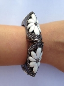 Harlow Bangle Black/White