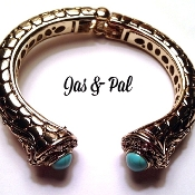 Jaipur Bangle- Turquoise