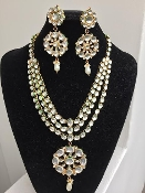 Drop Kundan Bridal Set