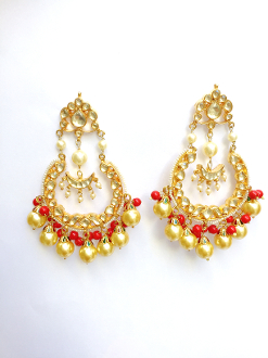 Chayana Earring-Coral