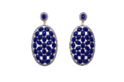 Neela Earring in Blue