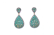 Ruhi Earring - Green
