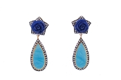 Malli Earring in Blue