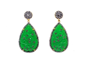 Oviya Earring - Green