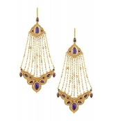 Ehsan Earring - Purple Quartz