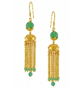 Inbar Earring - Green Onyx