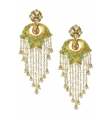 Kumari Earring - Fern Green