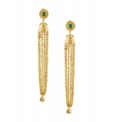 Kalila Earring - Green Onyx